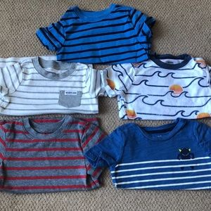 18-24M 5 pack bundle of boys' T-shirts
